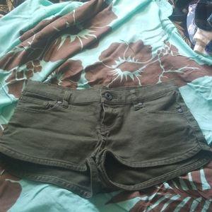 Lowrider denim forest green Hurley Shorts